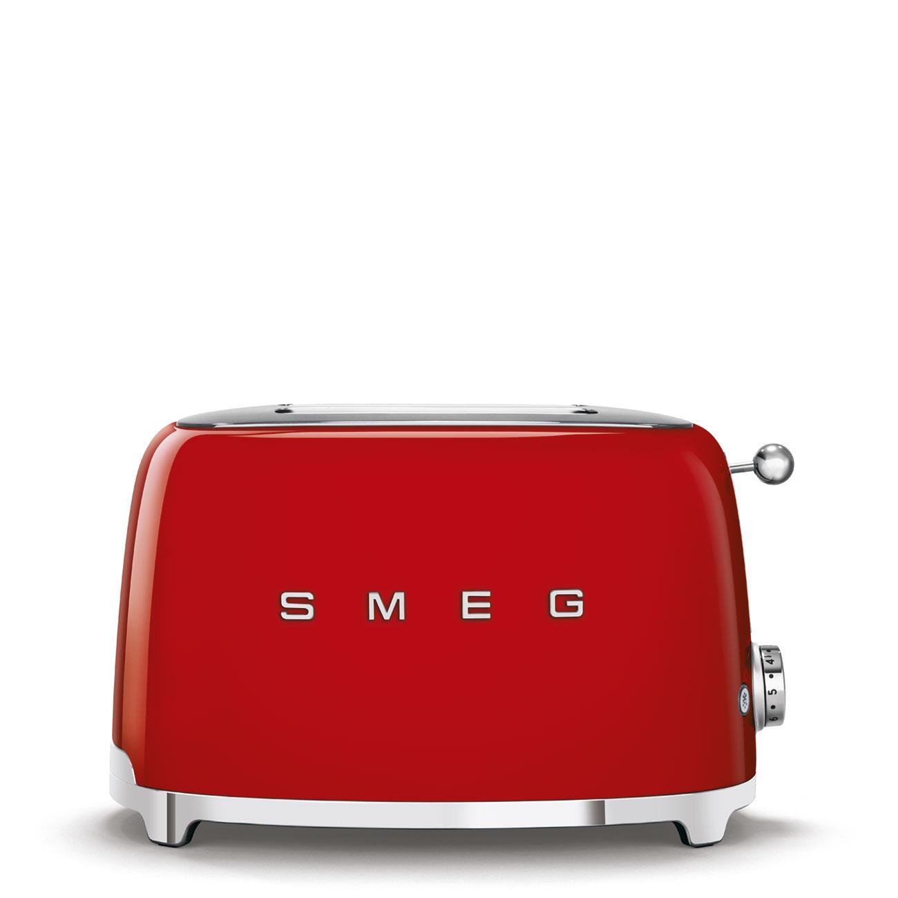 toasters rouge Smeg
