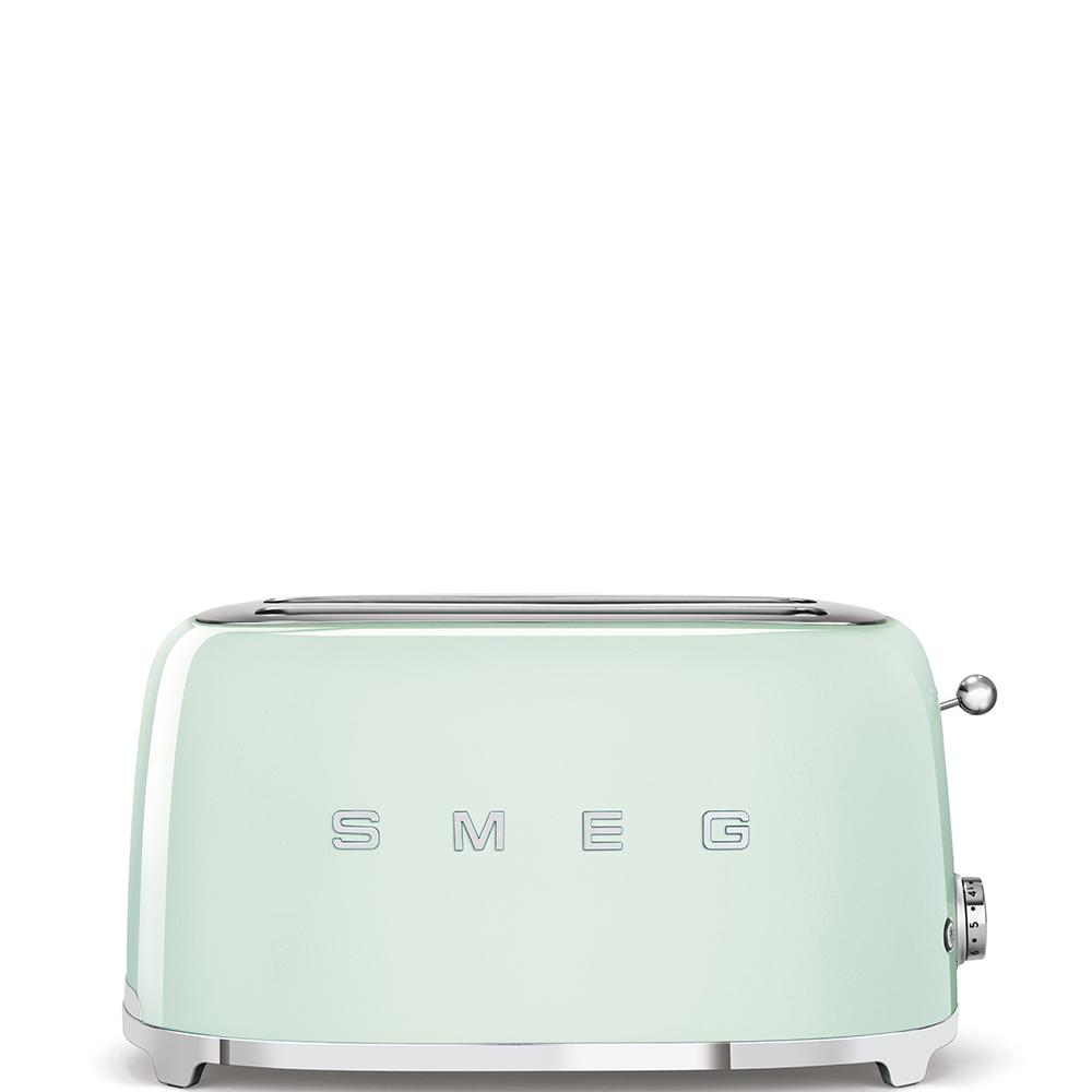 grille-pain vert d'eau Smeg